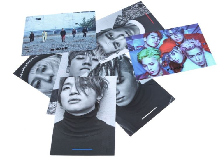 bigbang postcard set 2017 bigbang awesome