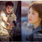 Descendants of the sun photobook 316p + music score  k-drama song joong ki song hye gyo