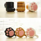 Neko Cat Paw Animal Mug Cup Coffee Tea Cute Gift Crazy Ca Funny drink milk 3pcs