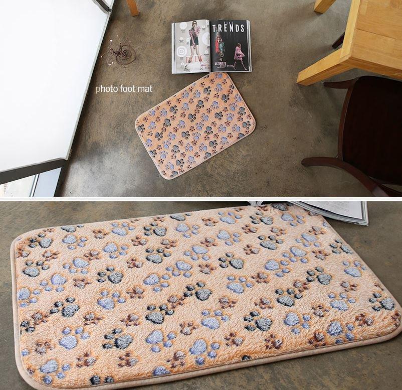 microfiber bear paw mat funny mat kitchen mat door mat home decor