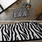 microfiber zebra foot mat door mat funny mat home decor