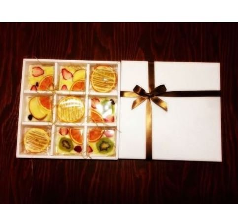 mixed dried fruit chocorate sweet taste natural handmade snack special gift