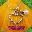 Rope Heart Dangle Charm