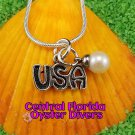 USA Dangle Charm