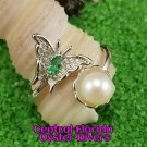 Butterfly Ring 925SS