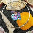 Locket & Pearl Dangle Bracelet Adjustable