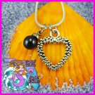 Bubble Heart Dangle