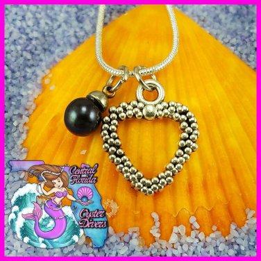 Bubble Heart Dangle
