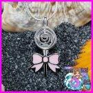 Lollipop w/ Pink Bow 925SS
