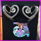 Heart Earrings 925SS