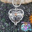 Snowflake Heart 925SS