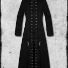 Handmade Men Black Hellraiser Goth Vampire Jacket