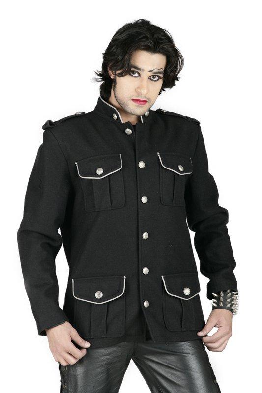 Gothic army jacket Shirt