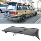 88-91 Honda Civic Wagon 5Dr J Style Racing Rear Roof Spoiler Wing Body Kit EF