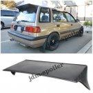 88-91 Honda Civic Wagon 5Dr J Style Racing Rear Roof Spoiler Wing Body Kit EF