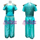 custom made shimmer and shine cosplay costume girl fairy tale costume green kids party