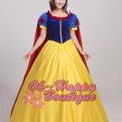 Adult snow white princess dress costume women party dress fairy