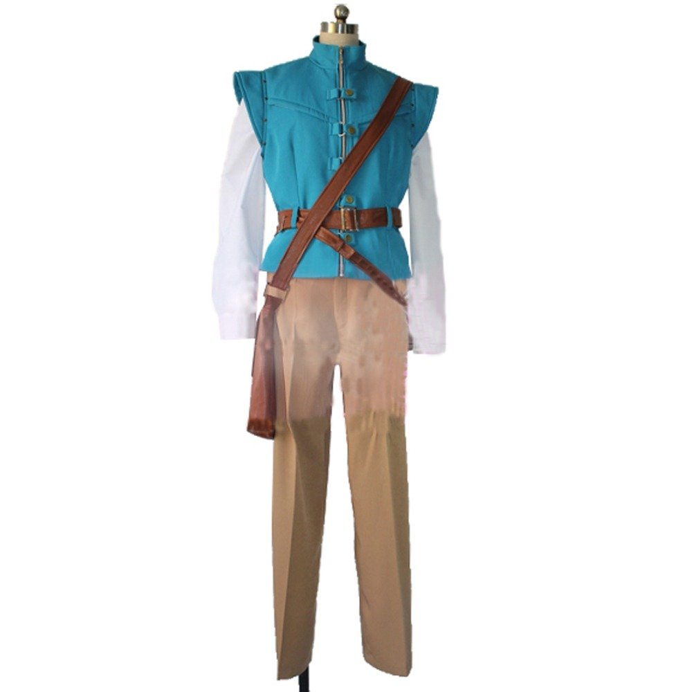 Tangled rapunzel Flynn Rider Cosplay Costume Prince