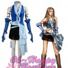 Final Fantasy X Yuna Singing Uniform Game Cosplay Costume girl