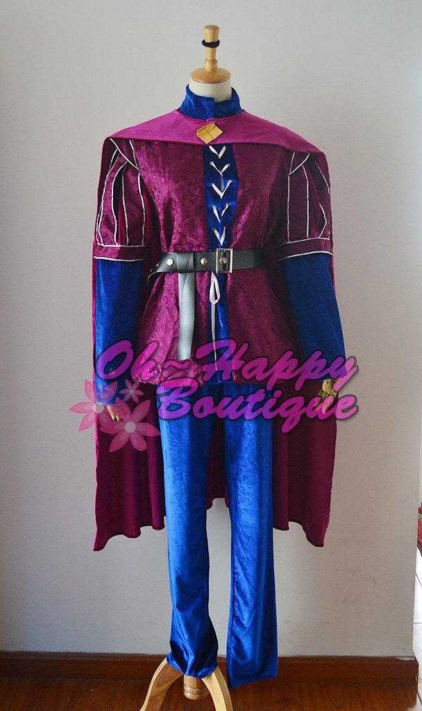 Sleeping Beauty aurora Prince Phillip Cosplay Costume men halloween