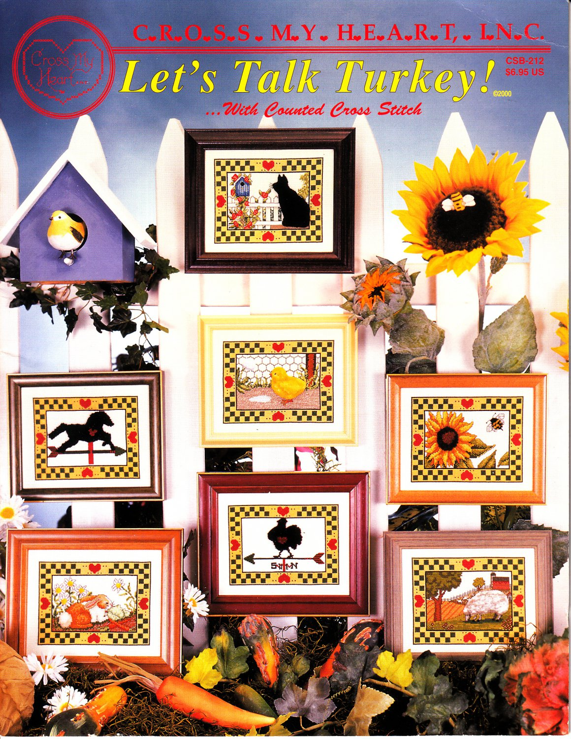 Let's Talk Turkey! With Counted Cross Stitch (Cross My Heart XS, 2000)
