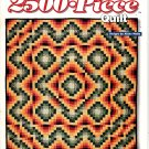 The Super-Easy 2500 Piece Quilt by Aliske Webb (Quilting, 1995)