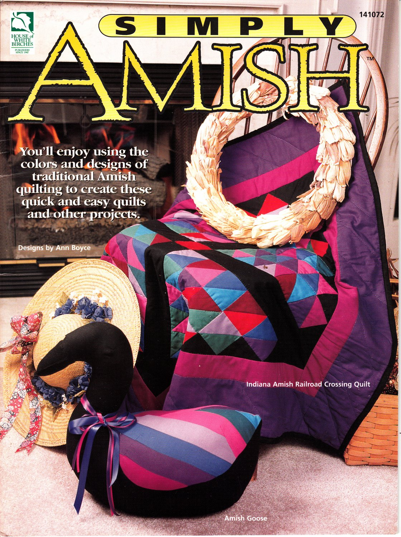 Simply Amish by Ann Boyce (Quilting, 1998)