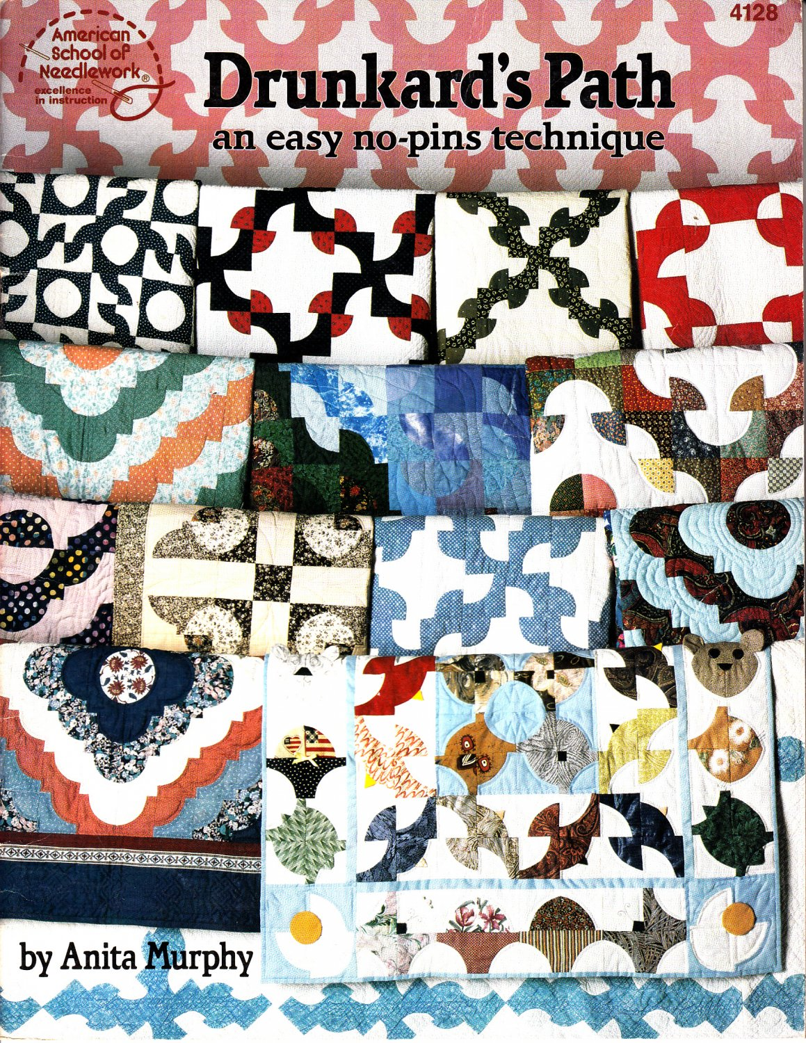 Drunkard's Path: An Easy No-Pins Technique by Anita Murphy (Quilting, 1991)