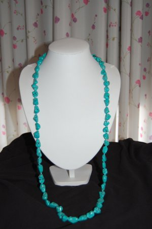 Turquoise nugget Necklace N1034