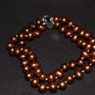 Double Strand Brown Bracelet