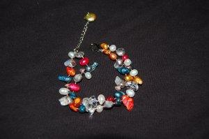 Double Strand Multicolor Bracelet B1096
