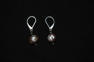 Coin pearl Earring