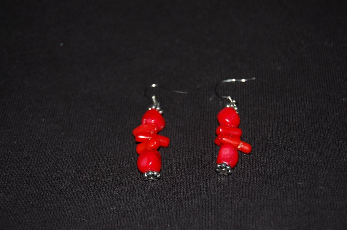 Coral Earrings E1151