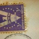 Three cent win the war stamp