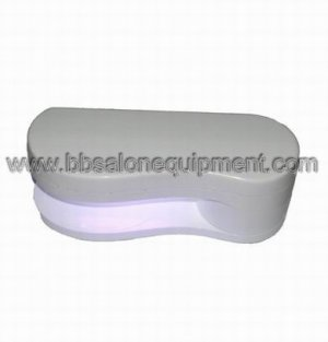 Portable UV light for nail care