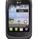 Refurbished LG 306G Black Prepaid Cellular Phone Straight Talk
