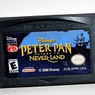 2002 Disneys Peter Pan: Return to Neverland For Game Boy Advance & DS Game Only