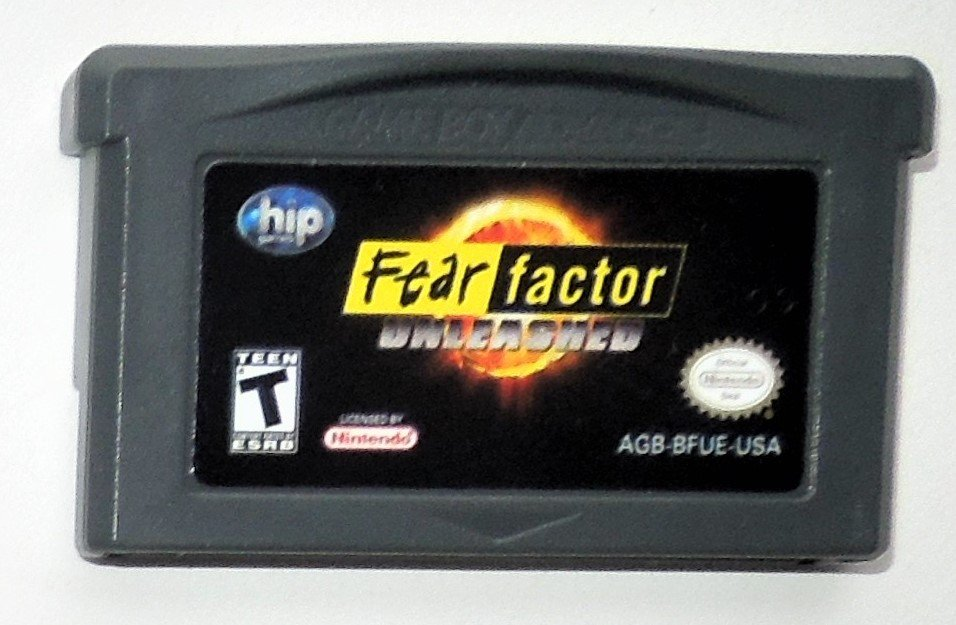 2004 Hip Games Fear Factor Unleashed Game Boy Advance & Nintendo DS Game Only