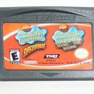 2005 THQ Spongebob Squarepants 2 In One Game Pack For Game Boy Advance Game Only