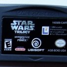 2004 Ubisoft Star Wars Trilogy Apprentice Of The Force For Game Boy Advance