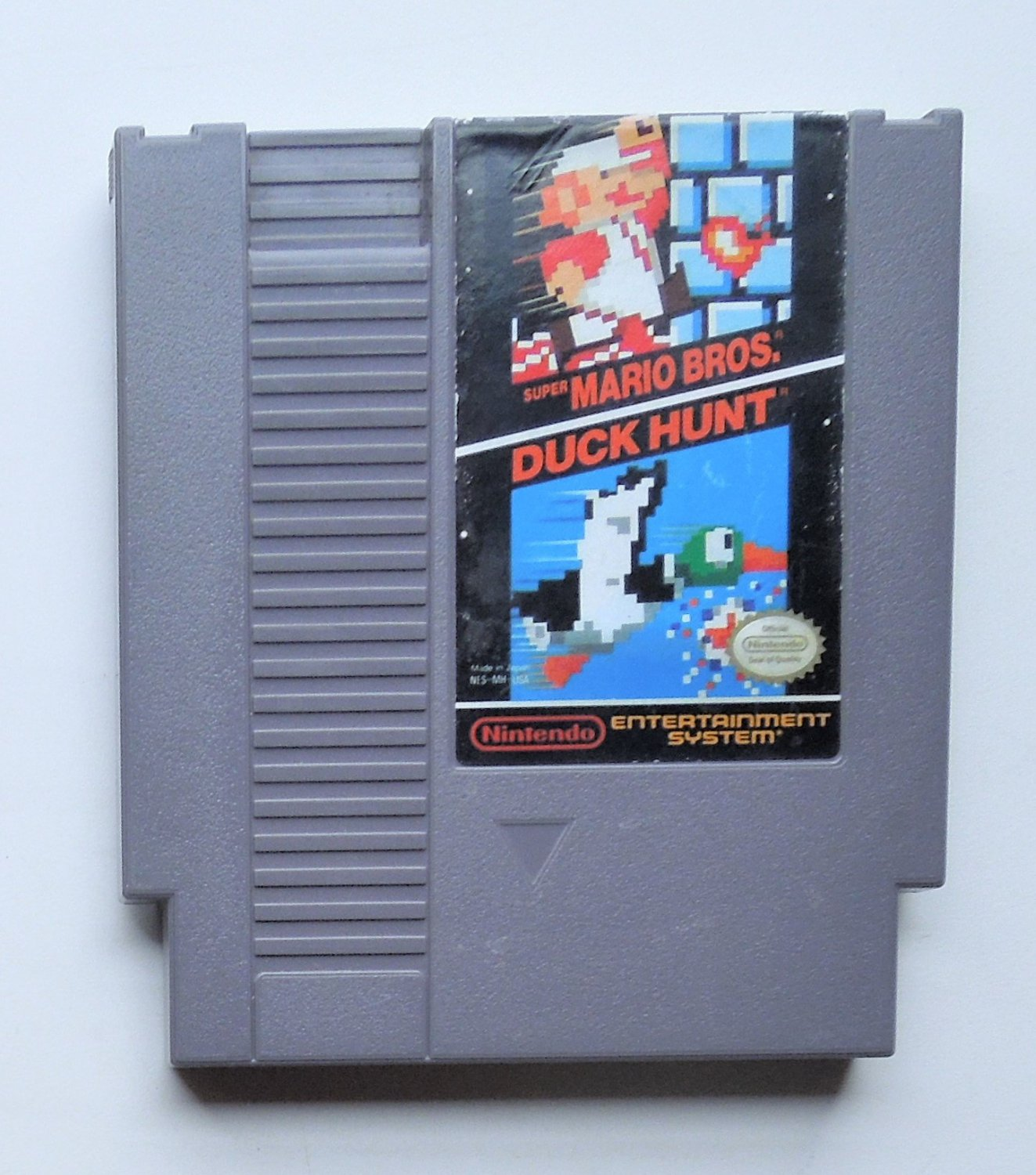 1985 Super Mario Bros./Duck Hunt For The NES Nintendo Entertainment System