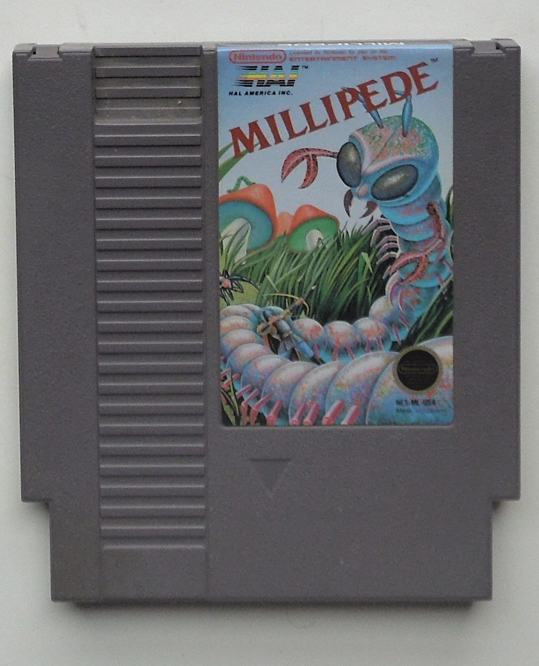 1988 Hal Lab Millipede For The Classic NES Nintendo Entertainment System