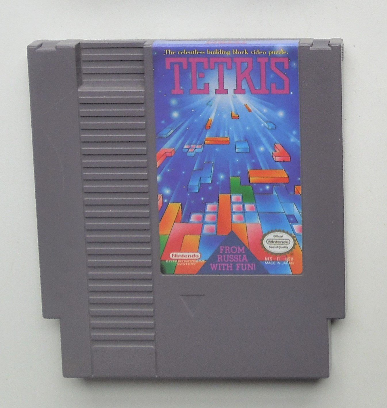 1988 Nintendo Tetris For The Classic NES Nintendo Entertainment System