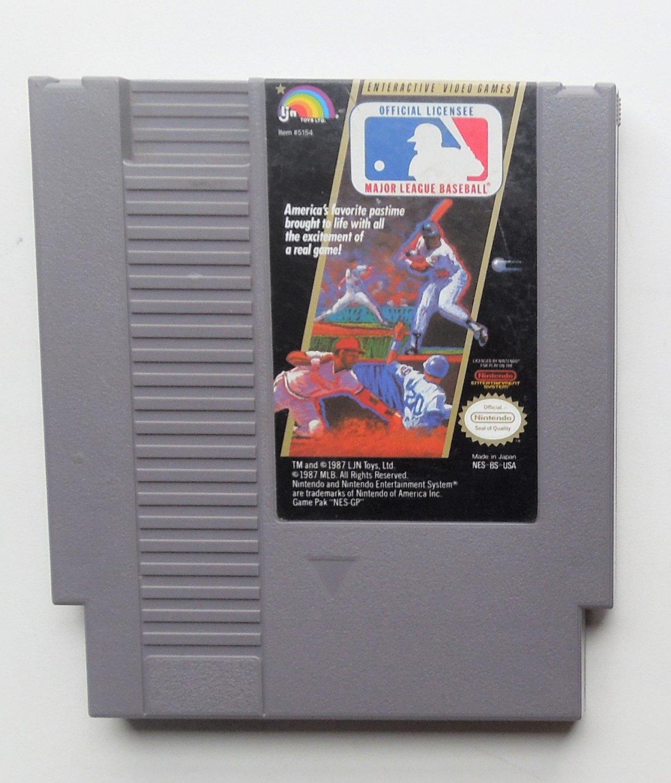 1988 LJN Major League Baseball For The Classic NES Nintendo Entertainment System