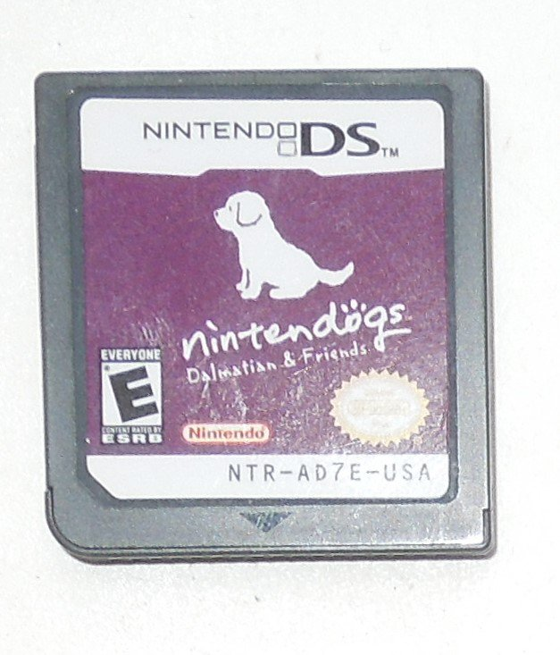 2005 Nintendo Nintendogs Dalmatians & Friends For Nintendo DS systems Game Only