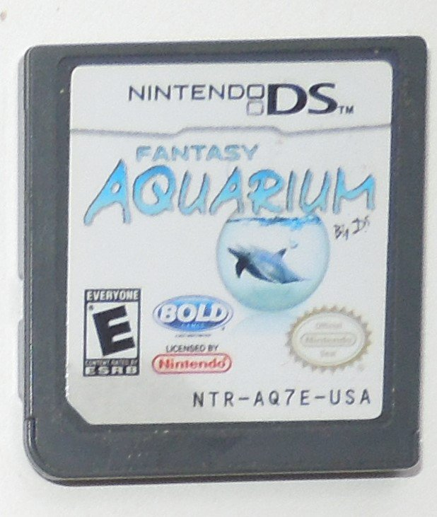 2008 Bold Games Fantasy Aquartum Nintendo DS Game Systems Game Only