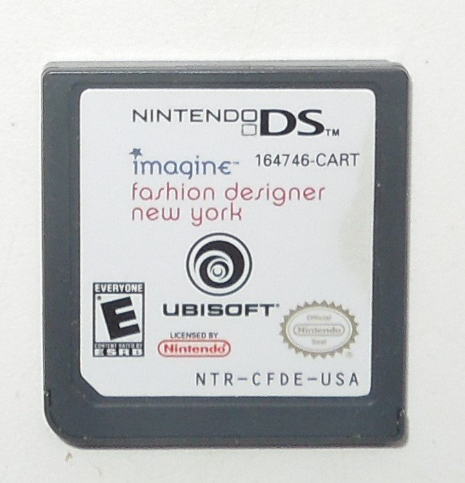 2008 Ubisoft Imagine Fashion Designer New York For Nintendo DS systems Game Only