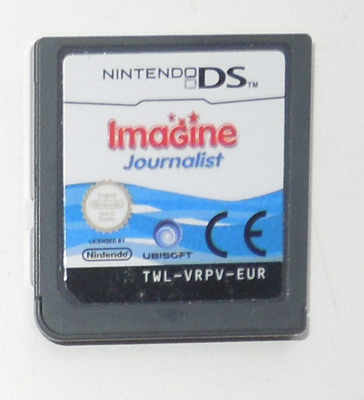 2009 Ubisoft Imagine Journalist Nintendo DS Game Systems Game Only