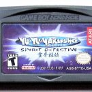 2001 Konami Yu Yu YaKusho Spirit Detective For Game Boy Advance & Nintendo DS