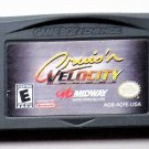 2001 Midway Cruis'n Velocity For Game Boy Advance & Nintendo DS Game systems